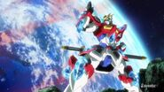 KMK-B01 Kamiki Burning Gundam (Island Wars) 02