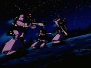 Mobile Suit Gundam Journey to Jaburo PS2 Cutscene 043 Dom