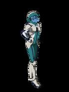 G Gen Cross Rays Custom Character (Female Gjallarhorn Pilot with Helmet)