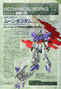 Moon Gundam Mechanical works vol.20 A