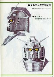 Gundam head draft