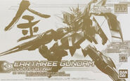 HGBDR Earthree Gundam -Gold Coating-