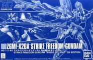 HGCE Strike Freedom Gundam Wing of Light DX Edition