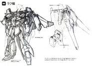 Lightning Gundam rough sketch
