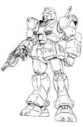 Okawara Redesign RGM-79 GM