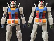 RobotDamashii Rx-78-2 FirstTouch2500 verANIME p02 Sample vs R-192