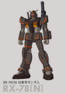 RX-78[N] Black Local Type Gundam