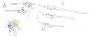 GN-001REIV Gundam Exia Repair IV (Armaments)