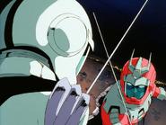 Mobile Suit Gundam Journey to Jaburo PS2 Cutscene 097 Amuro v Char