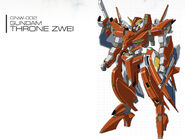 GNW-002 Gundam Throne Zwei
