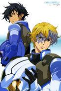 Gundam 00 Festival 10 Revision Poster - Illustrated by Chiba Michinori