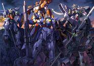 XXXG-01W Wing Gundam - Five Gundams Confirmed