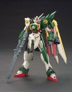XXXG-01Wf Wing Gundam Fenice (Gunpla) (Front)