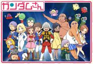 Mobile Suit Gundam-san Anime