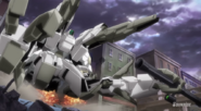 Reversible Gundam tank mode B
