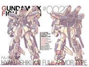 FA-00100S - Hyaku-shiki Kai Full Armor Type GFF