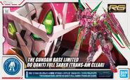 RG 00 Qan-T- Full Saber -Trans-Am Clear-