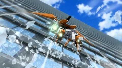 107 GN-007 Arios Gundam (from Mobile Suit Gundam 00)