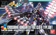 Hg Crossbone Gundam X-1 Full Cloth TYPE. GBFT