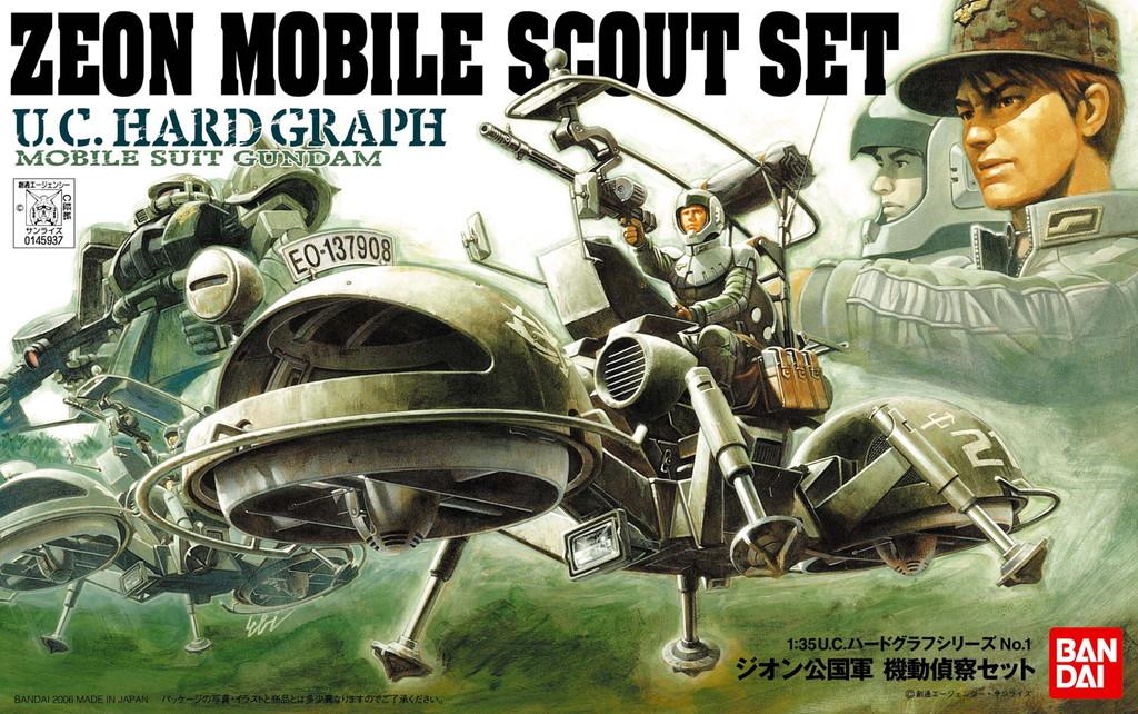 Set 1//35 BANDAI Efgf Zeon Ramba Ral Commando Uchg Hard Graph Earth Federation