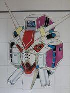 Zephyr Gundam Head