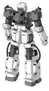 SRf-06 Dahle (Manga) Rear