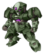 Super Robot Wars Z3 Tengoku Hen Mecha Sprite GNX-803T GN-XIV 2