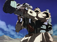 Gundam Ground Type (Desert Equipment) - Equipped with Net Gun