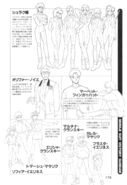 Victory Gundam Characters Lineart 03