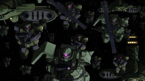 MOBILE SUIT GUNDAM THE ORIGIN Ⅴ Clash at Loum Trailer 2 (CN.HK.TW. EN. KR