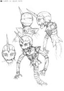 Gundam The End Junya Ishigaki Early Design 3