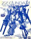 MG ZZ Gundam Ver.Ka -Clear Color-