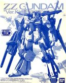 MG ZZ Gundam Ver.Ka -Clear Color-
