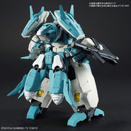 Seravee Gundam Scheherazade (Gunpla) (Rear)