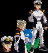 Gundam info Character Sheet Ian Lee
