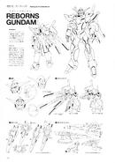 Reborns Gundam Lineart
