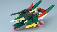 XXXG-01Wfl Gundam Fenice Liberta (Gunpla) (Front Meteor Hopper Mode)