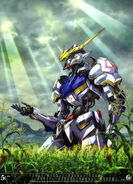 MS Gundam Calendar 2019 05-06