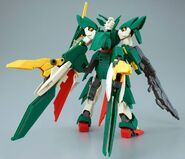 XXXG-01Wfl Gundam Fenice Liberta (Gunpla) (Rear)
