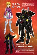 ZGMF-X88S - Gaia Gundam - Technical Summary Design