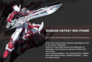 Gundam Astray Red Frame - Data