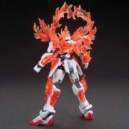 TBG-011B Try Burning Gundam (Gunpla) (Rear With Burning Burst System Activated)