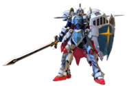 Knight Gundam Mobile Suit Gundam Extreme VS. 2