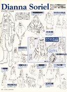 Turn A Gundam Dianna Soriel Fashion Details