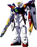 XXXG-00W0 Wing Gundam Zero - Front