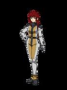 G Gen Cross Rays Custom Character (Female Tekkadan Pilot)