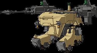 Front (w/30mm machine gun)