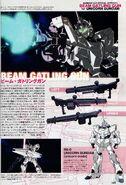RX-0 - Unicorn Gundam - Beam Gatling Gun - INFO