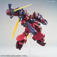 RX-78GP02R天 Gundam GP-Rase-Two-Ten (Gunpla) (Action Pose 1)