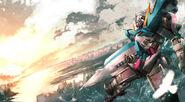 GN-001 Gundam Exia Artwork